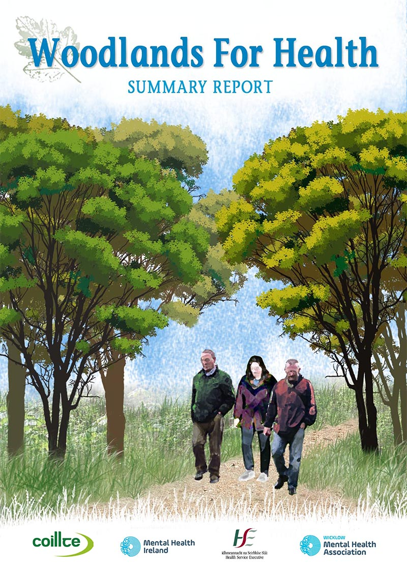 Woodlands For Health Report Cover